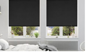 Commercial blockout roller blinds